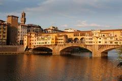 Fiume Arno Firenze Fotografia Stock Libera da Diritti