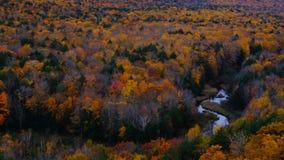 Fiume in autunno Fotografie Stock