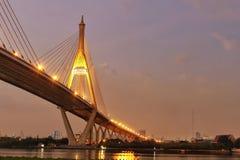 Fiume Bangkok Fotografie Stock