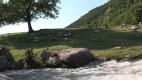 Fiume in Bulgaria stock footage