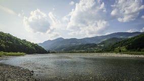 Fiume Cesalpina della montagna Fotografia Stock