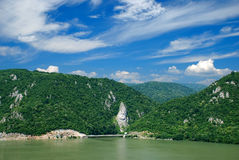 Fiume Danubio Immagini Stock Libere da Diritti