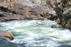 Fiume del bollitore da Christina Lake BC immagine stock libera da diritti