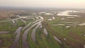 Fiume del lago Riverland video d archivio