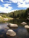 Fiume del sud di Pltte, Colorado Immagini Stock