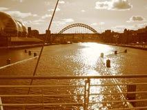 Fiume del Tyne Fotografie Stock Libere da Diritti