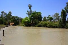 Fiume dell'alligatore, parco nazionale di Kakadu, Territorio del Nord, Australia Immagini Stock