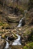 Fiume della cascata della Virginia dell'Ovest nuovo fotografia stock