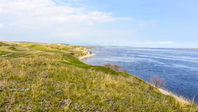 Fiume della costa Fotografia Stock