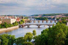 Fiume della Moldava Immagine Stock Libera da Diritti