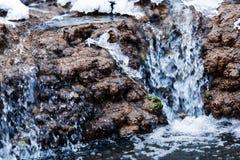 Fiume della montagna Fotografia Stock Libera da Diritti