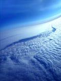 Fiume della nube come veduto dal di cui sopra Fotografia Stock