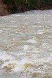 Fiume delle rapide dell'alta marea Fotografie Stock