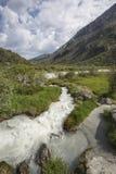 Fiume di Akkem Montagna di Altai La Russia Fotografia Stock