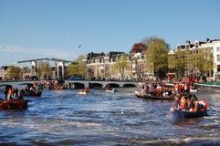 Fiume di Amstel Immagini Stock Libere da Diritti