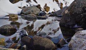 Fiume di Artouste 05 della montagna Fotografie Stock Libere da Diritti
