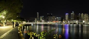 Fiume di Brisbane Immagini Stock