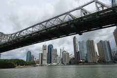 Fiume di Brisbane brisbane queensland l'australia fotografie stock