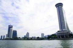 Fiume di Chao Praya immagini stock