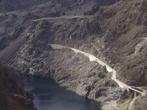 Fiume di colorado alla diga di Hoover immagine stock