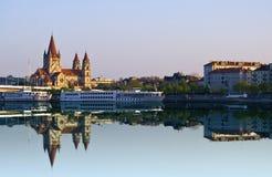 Fiume di Danubio immagine stock libera da diritti