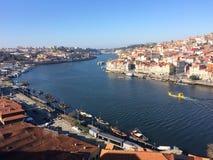 Fiume di Douro Fotografie Stock Libere da Diritti