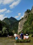 Fiume di Dunajec Immagine Stock