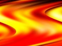 Fiume di fuoco immagini stock