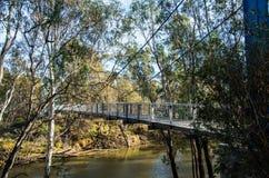 Fiume di Goulburn in Shepparton, Australia Fotografia Stock Libera da Diritti