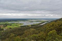 Fiume di Hawkesbury a Sydney occidentale, Australia Immagini Stock