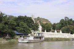 Fiume di Irrawaddy immagine stock libera da diritti