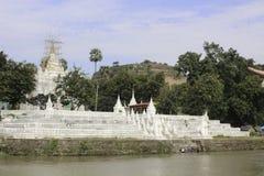 Fiume di Irrawaddy immagine stock