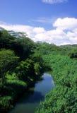 Fiume di Kalihiwai Fotografie Stock