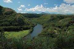 Fiume di Kauai Fotografia Stock Libera da Diritti