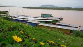 Fiume di Khong Immagine Stock Libera da Diritti