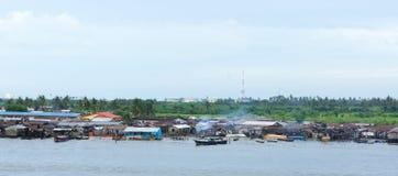 fiume di Lagos Fotografia Stock Libera da Diritti