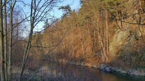 Fiume di Malse, Boemia del sud, Cechia Fotografie Stock