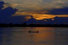 Fiume di Mekong Immagini Stock