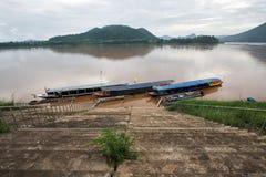 Fiume di Mekong Immagini Stock Libere da Diritti