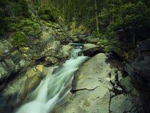 Fiume di Merced in parco nazionale di Yosemite fotografia stock libera da diritti