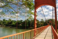 Fiume di Nam Song a Vang Vieng, Laos fotografia stock