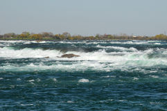 Fiume di Niagara fotografia stock libera da diritti