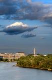 Fiume di Potomac Fotografia Stock