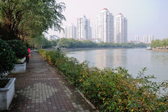 Fiume di Qinhuai Fotografia Stock