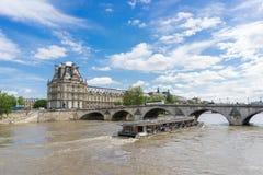 Fiume di Seine immagine stock
