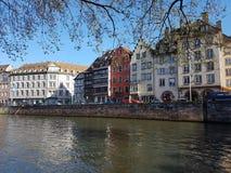 Fiume di Strasburgo Fotografia Stock
