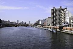 Fiume di Sumida fotografie stock libere da diritti