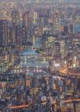 Fiume di sumida di Tokyo ed alta costruzione Immagine Stock