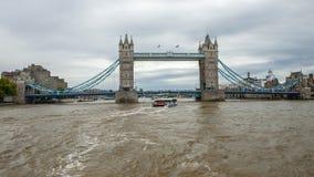 Fiume di Tamigi, Londra fotografie stock libere da diritti