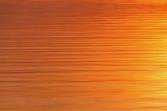 Fiume di tramonto dell'acqua di struttura Fotografia Stock Libera da Diritti